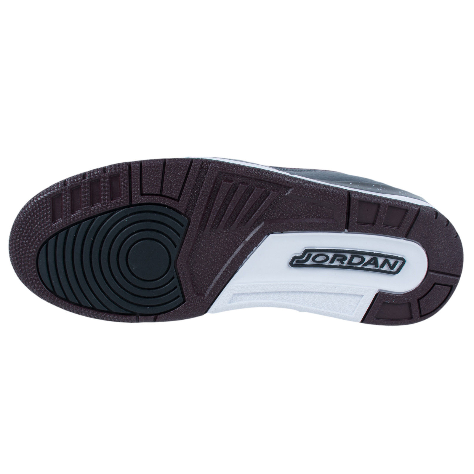 652047bce90b JORDAN Men s Deep Burgundy Grey Flight 97 Sneakers 654265 Sz 8.5  130 NWOB